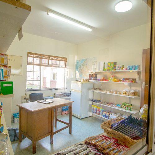 Dunant Park communal convenience shop