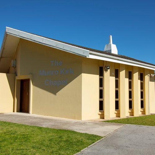 Laubscher Park communal chapel
