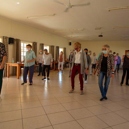 Laubscher Park social dancing