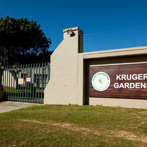Kruger Gardens entrance