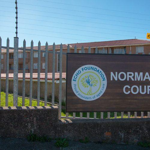 Normandy Court entrance