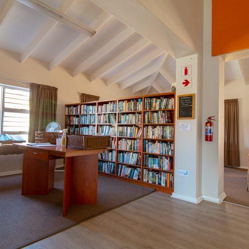 Stanbury Park communal library