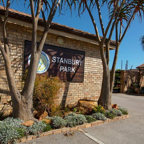 Stanbury Park entrance