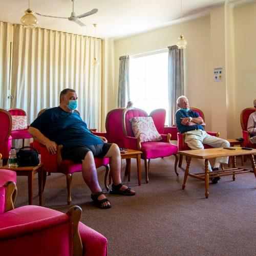 Walter Park communal lounge