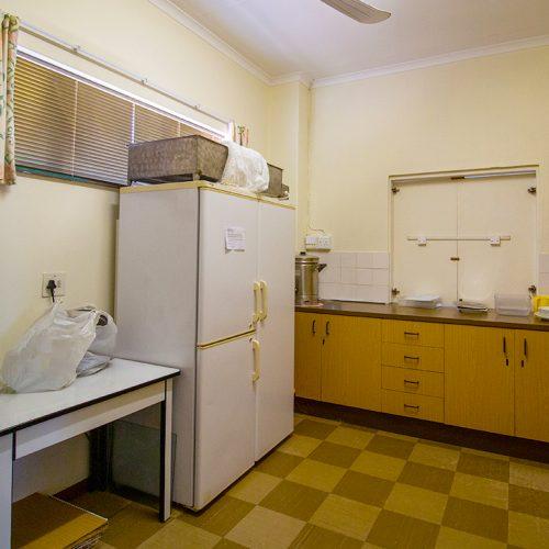 Walter Park Flats communal kitchen