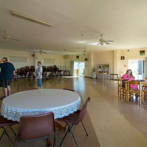 Walter Park Flats communal community room